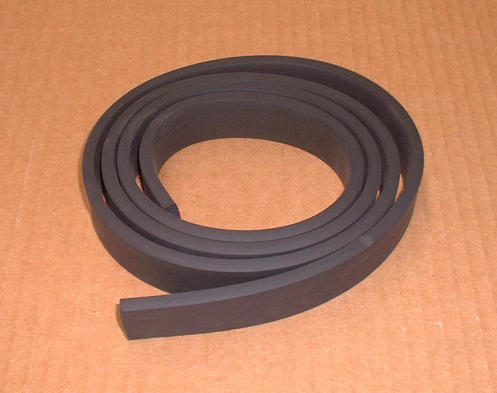 MTC6960 Land Rover Series 2 2A 3 Roof to Windscreen Frame Rubber Seal